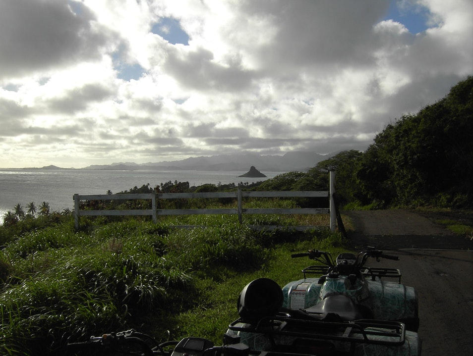 Best Time on Oahu: ATVing at Kualoa Ranch Kaneohe Hawaii United States