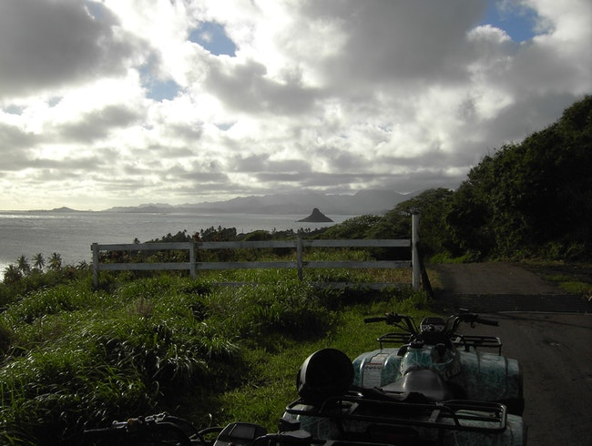 Best Time on Oahu: ATVing at Kualoa Ranch