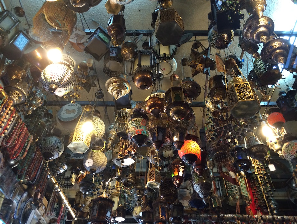 Don't Forget to Look Up When Visiting Aqaba Souk! Aqaba  Jordan