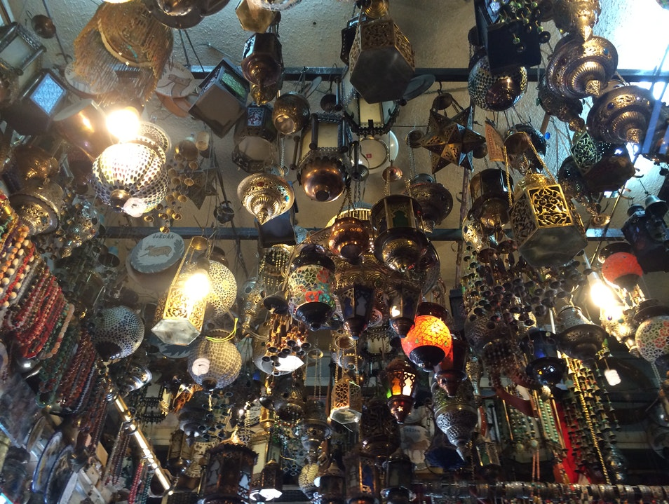 Don't Forget to Look Up When Visiting Aqaba Souk!