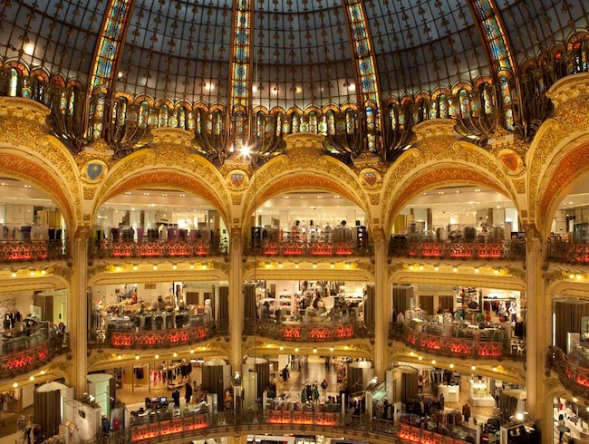 Gourmet Food Area at Galeries Lafayette