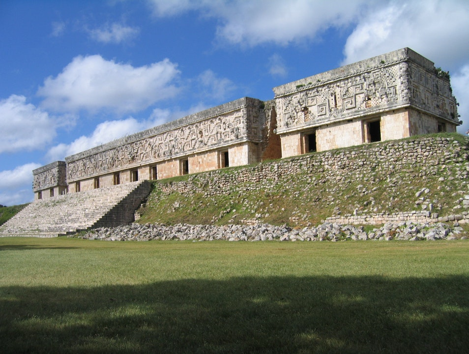The Governor's Palace  Uxmal  Mexico