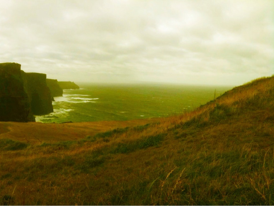 Lazy Afternoon At The Cliffs Of Moher Clare  Ireland