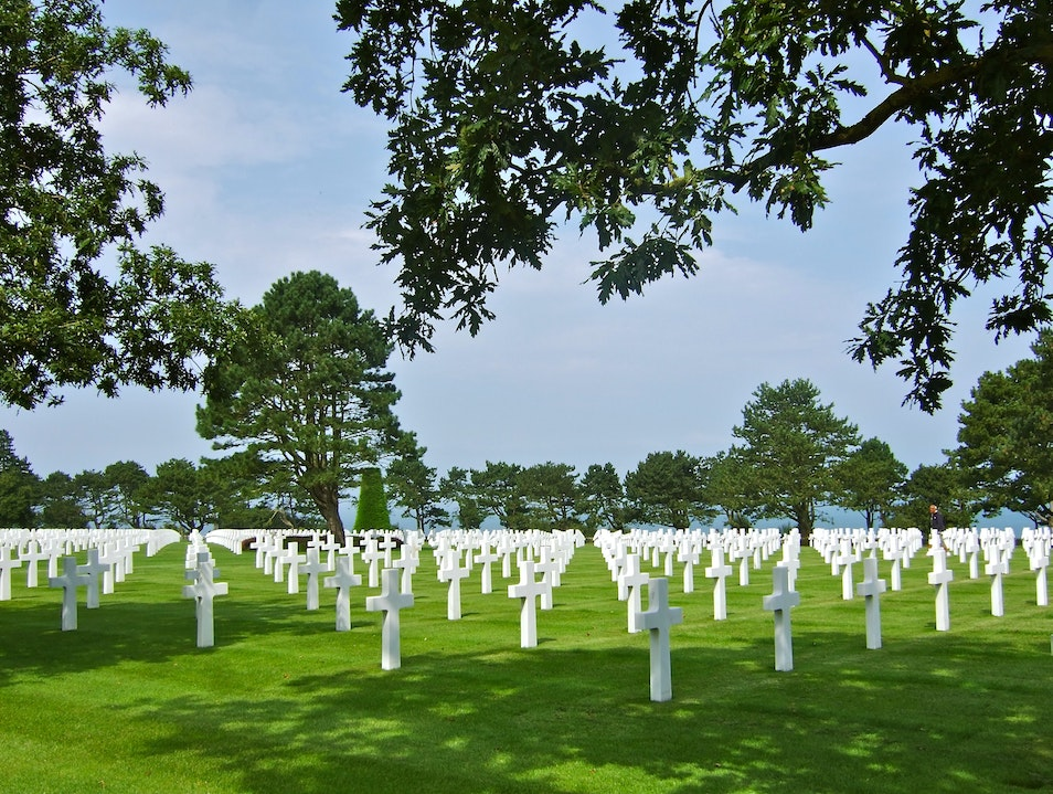 Normandy American Cemetery, France Colleville Sur Mer  France