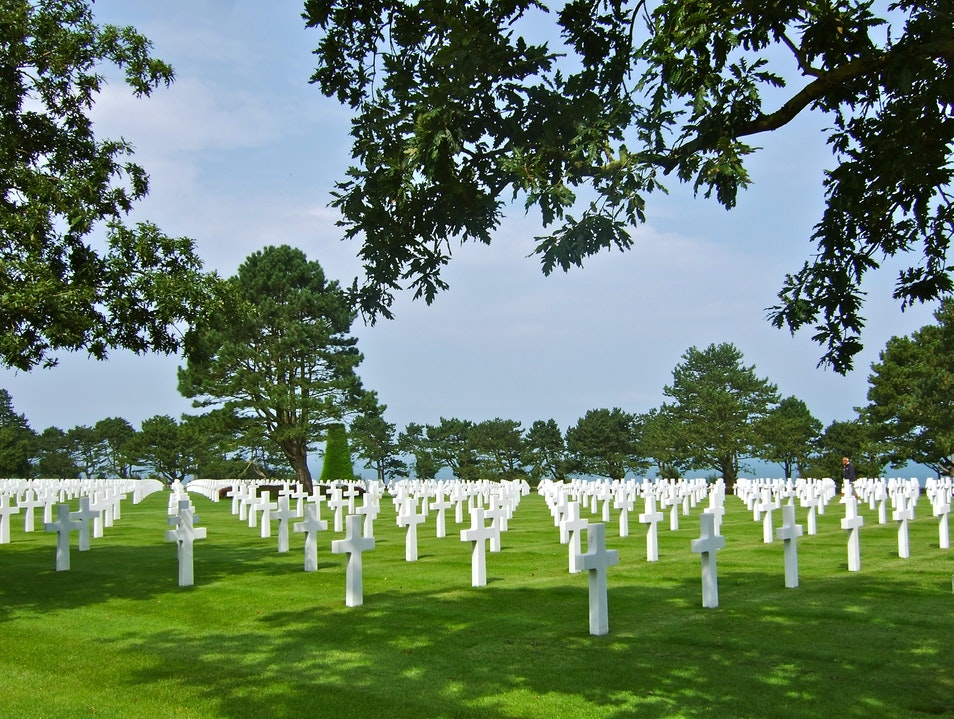 Normandy American Cemetery, France Colleville-sur-Mer  France