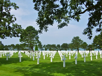 Normandy American Cemetery and Memorial Colleville Sur Mer  France
