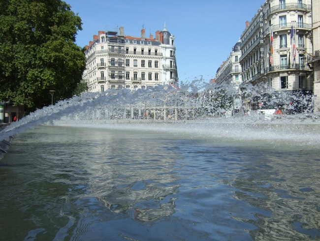 Center City Fountain, Lyon