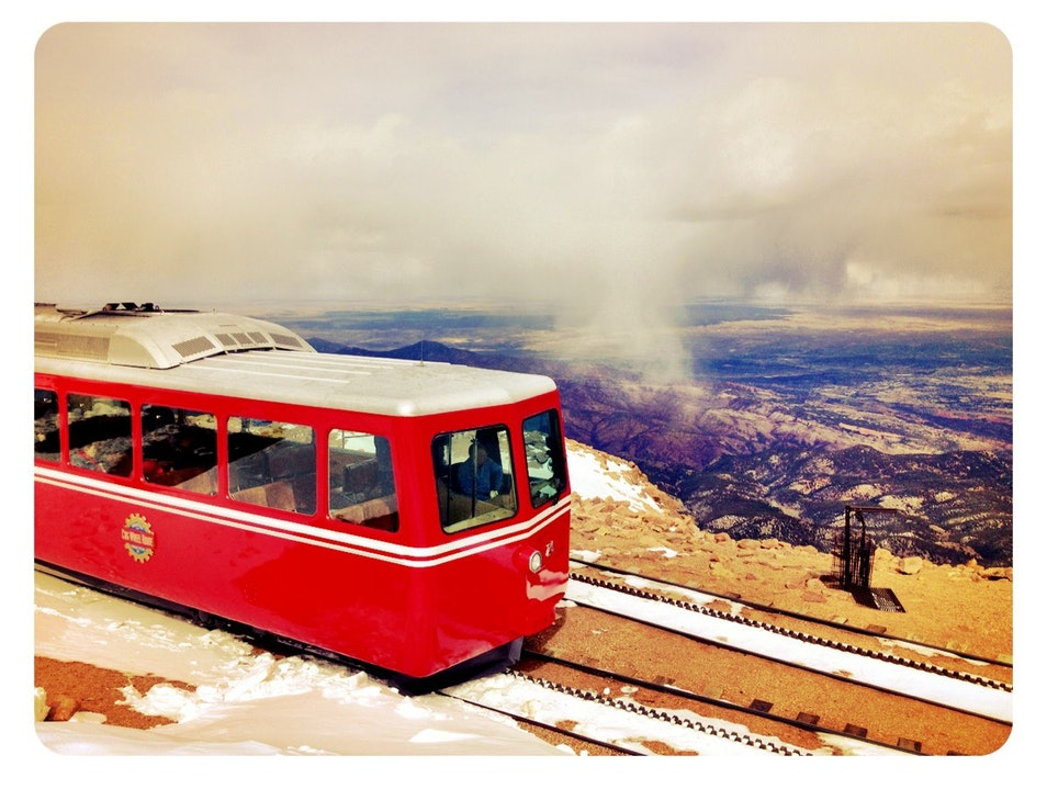 The Broadmoor's Pikes Peak Cog Railway Manitou Springs Colorado United States