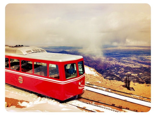 The Broadmoor's Pikes Peak Cog Railway