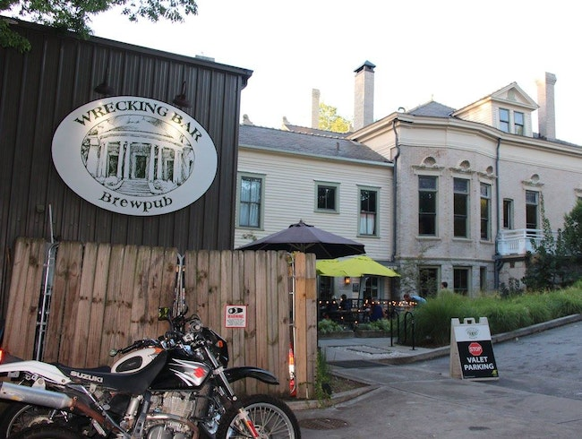 Brewpub Set in a Historic Home