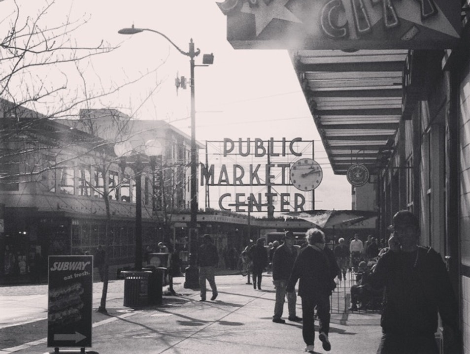 This is Seattle:  Pike Place Market