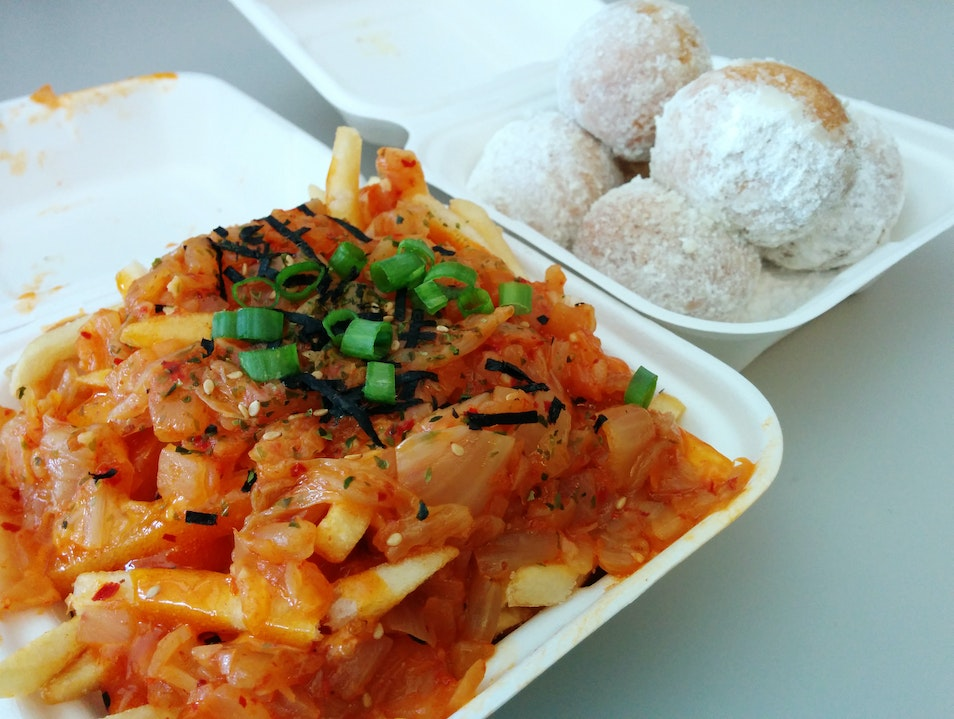 Spice Up Your Lunch at Seoul Kitchen Seattle Washington United States