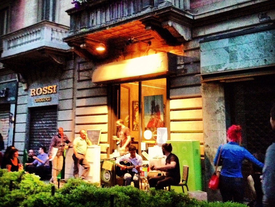 Jazz in Via Paolo Sarpi Milan  Italy