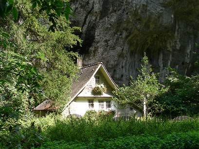 Verena Gorge and Hermitage Solothurn  Switzerland