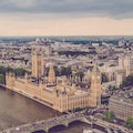 Best view of the House of Parliament London  United Kingdom