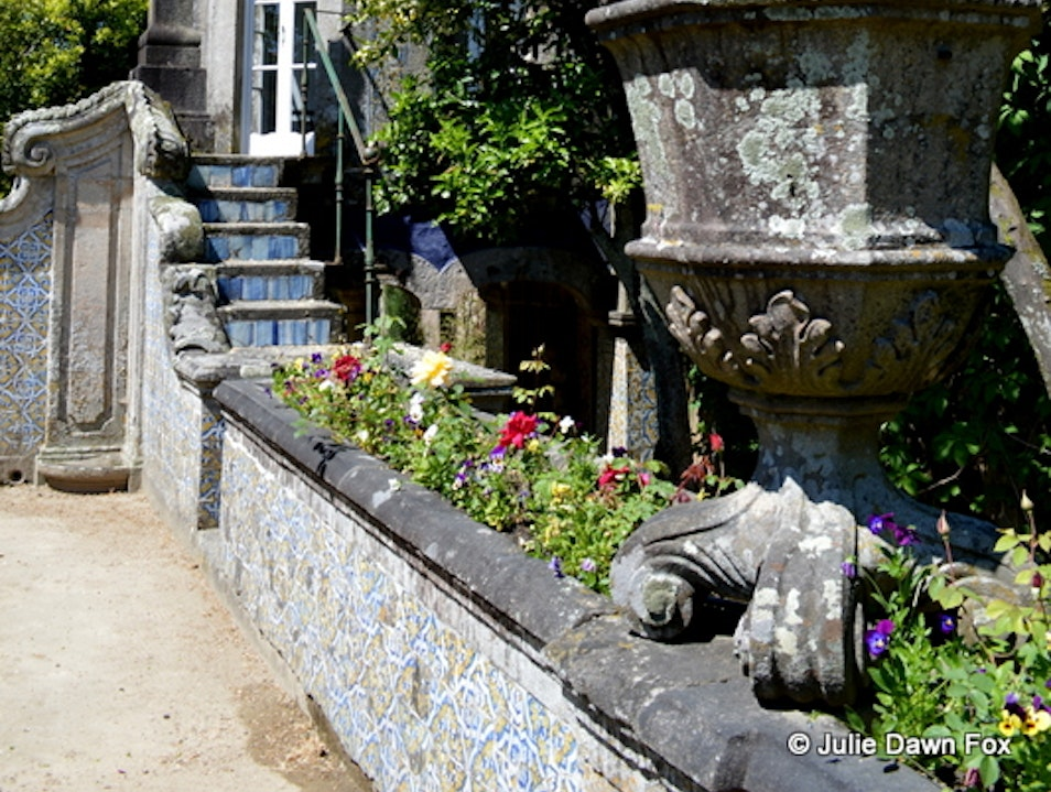 Palace museum with gorgeous gardens Braga  Portugal