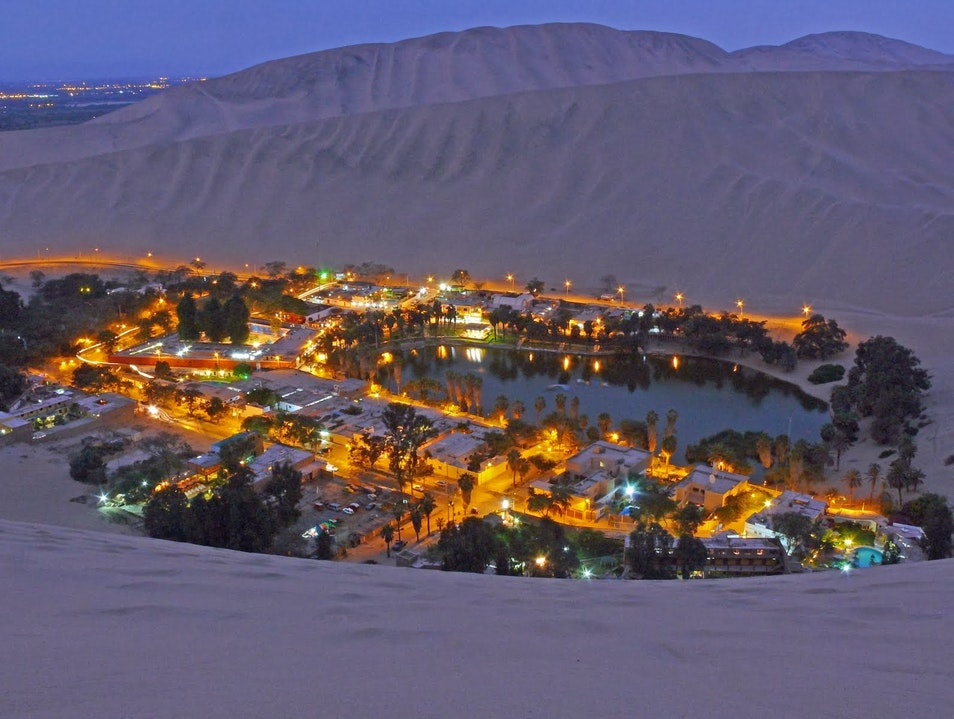 Huacachina Desert and Oasis Ica  Peru