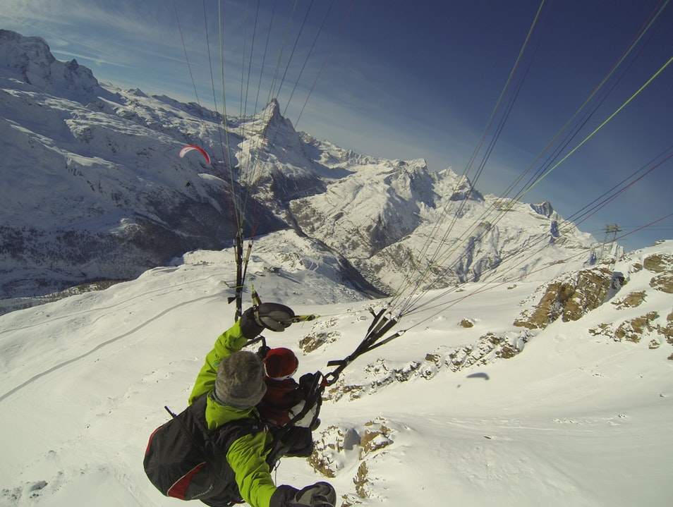 Paragliding in Zermatt Zermatt  Switzerland