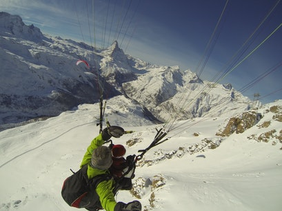 Paraglide in Zermatt Zermatt  Switzerland