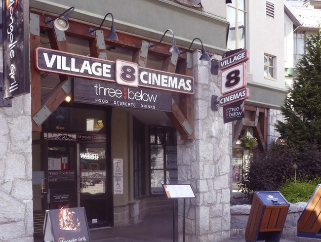 Village 8 Cinemas: Catch a Matinee In Whistler