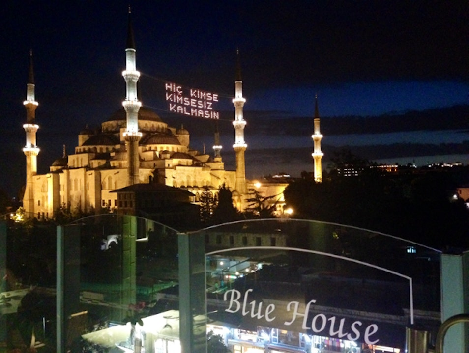 Rooftop Vista Over Istanbul Istanbul  Turkey