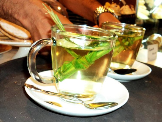 Coca Tea in Cusco City