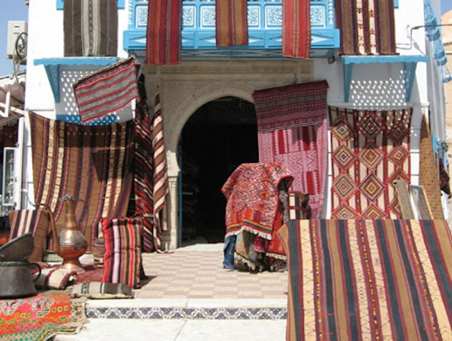 Carpets in Kairouan