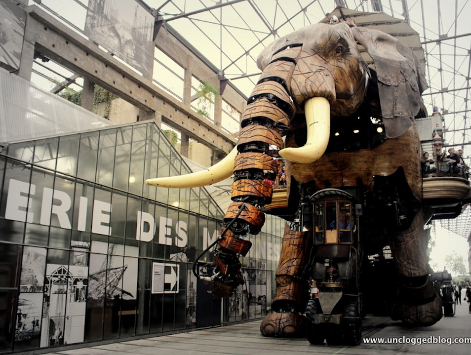 Art Elevates Life at Nantes' Galerie des Machines Nantes  France