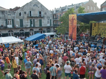Move to the Beat at the Louisiana Cajun-Zydeco Festival New Orleans Louisiana United States