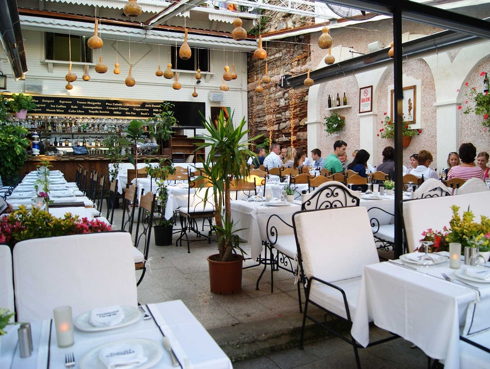 Albura Kathisma Restaurant Keeps a Secret Istanbul  Turkey