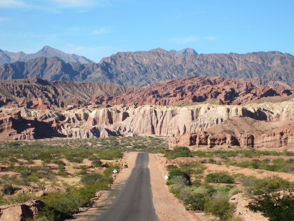 The Road from Salta to Cafayate