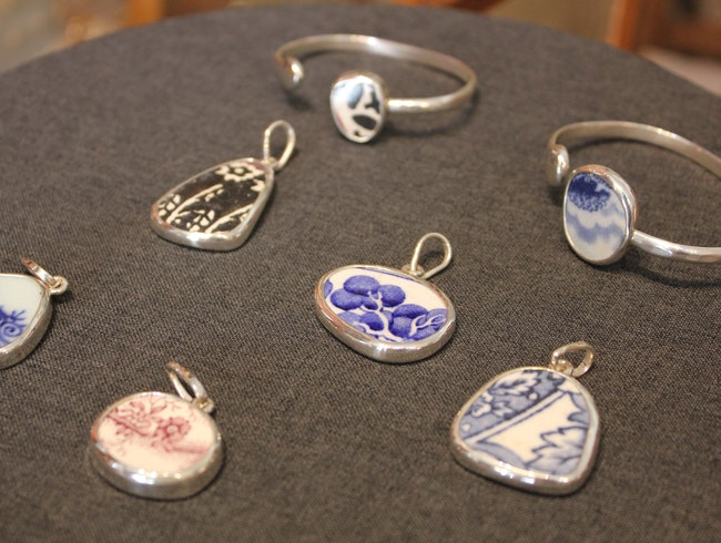 Chaney: Busted Crockery Becomes Jewelry