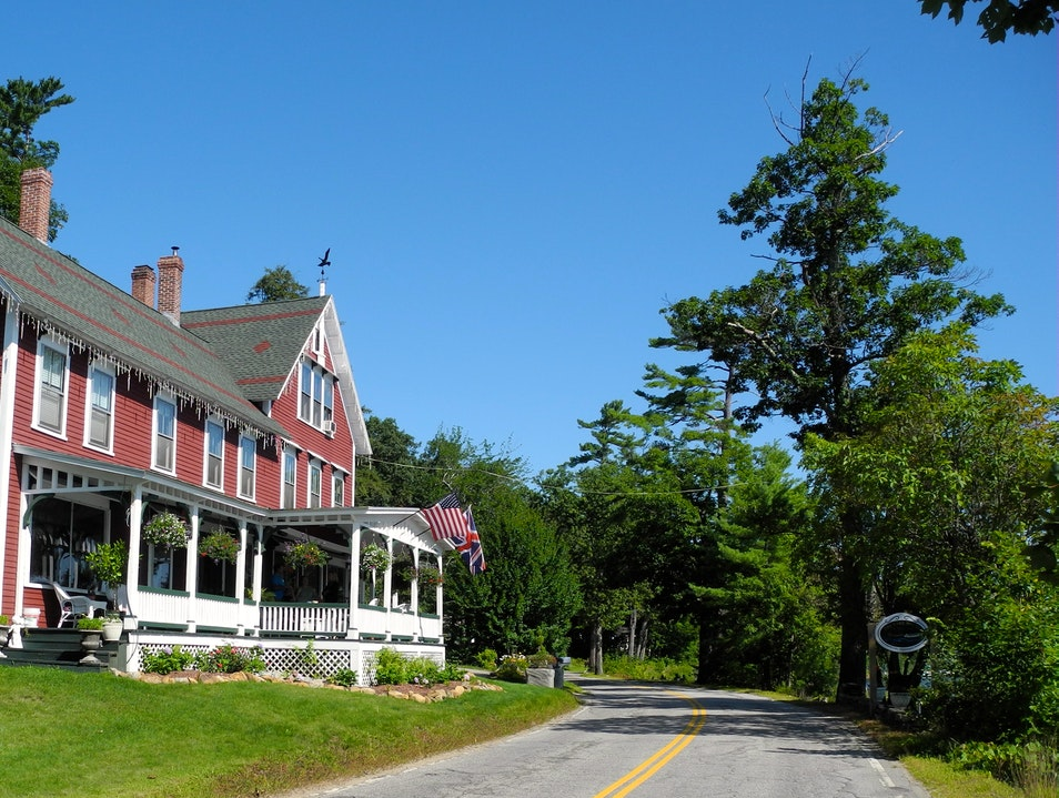 The Historic Lake House at Ferry Point Sanbornton New Hampshire United States
