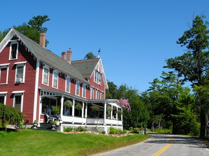 The Lake House at Ferry Point Inn Sanbornton New Hampshire United States