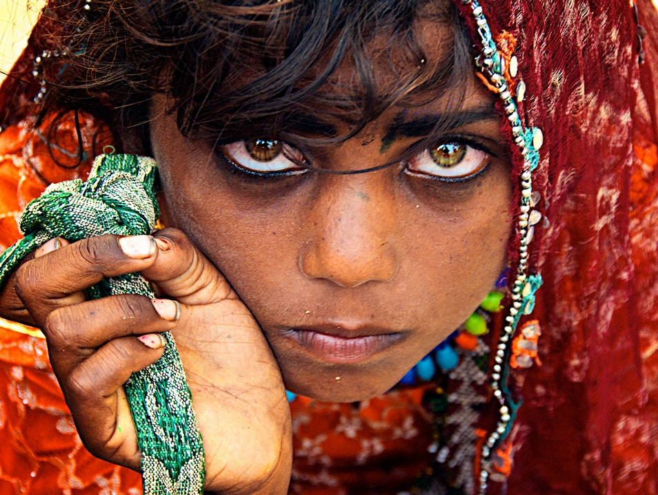 The Eyes Are the Jewels of the Body Varanasi  India