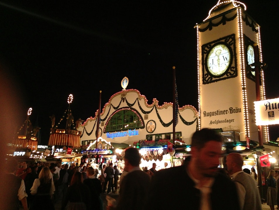 Augustiner.....a Beer Hall you can get into at Oktoberfest!