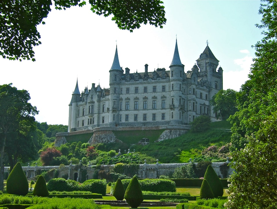 Dunrobin Castle, Scotland Golspie  United Kingdom