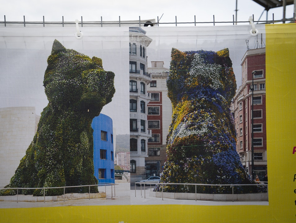 Jeff Koons' Puppy  – did you know? Bilbao  Spain