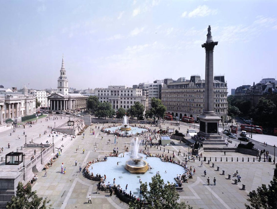 Trafalgar Square London London  United Kingdom