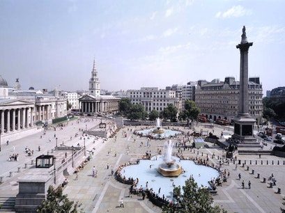Trafalgar Square London  United Kingdom