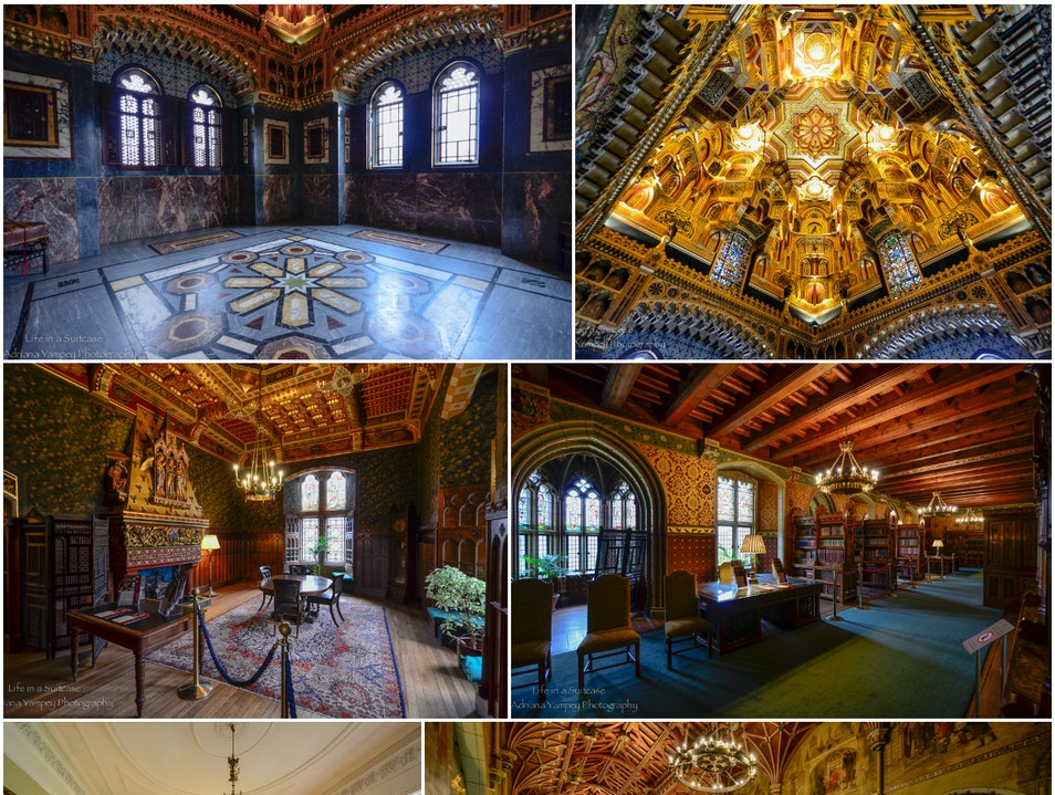 Interior at Cardiff castle Cardiff  United Kingdom