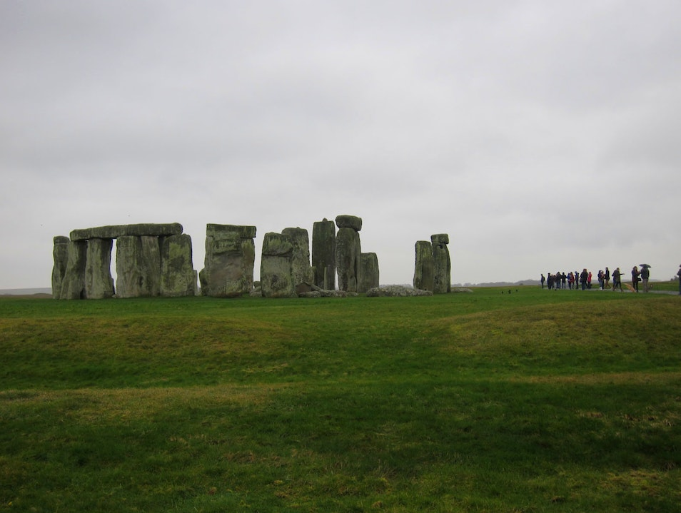 A ring of standing stones
