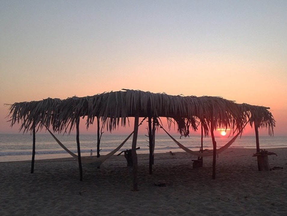 Sunsets on the Beach Puerto Escondido  Mexico