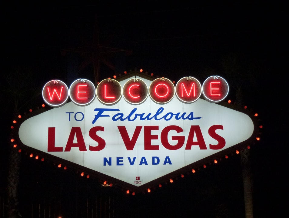 Welcome to Las Vegas Sign Las Vegas Nevada United States