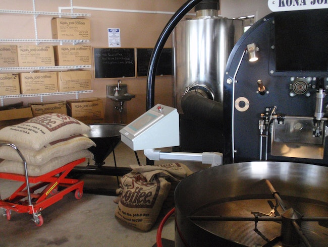 Kona Joe's Distinct Coffee Operation