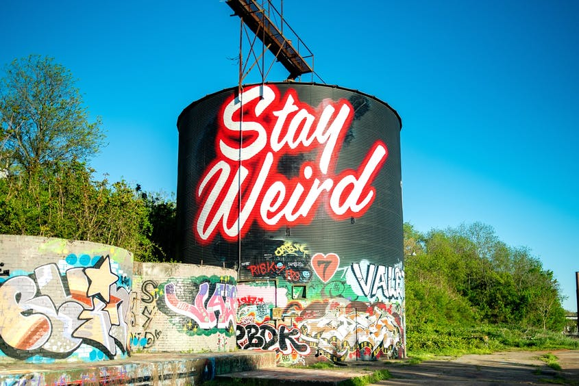 A former industrial tract, the River Arts District is now one of Asheville's hottest neighborhoods, with murals, artist studios, and more.