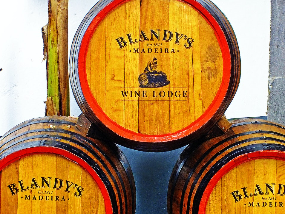 Blandy's Wine Lodge Funchal  Portugal