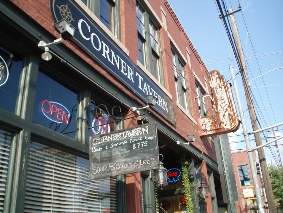 Neighborhood Bar at Corner Tavern