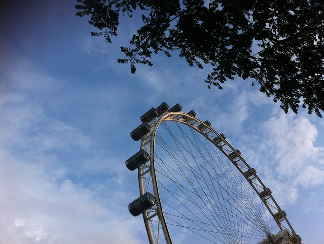 An Eye in the Singapore Sky