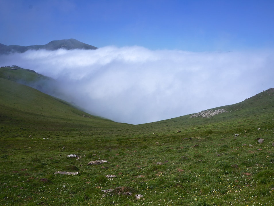 Hiking through the Pyrenees Saint-Jean-Pied-de-Port  France